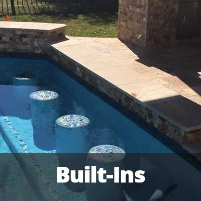 Built-Ins For Inground Pools
