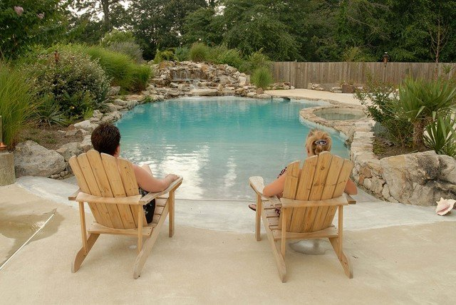 Beach Entries are a popular built-in for pools in 2016