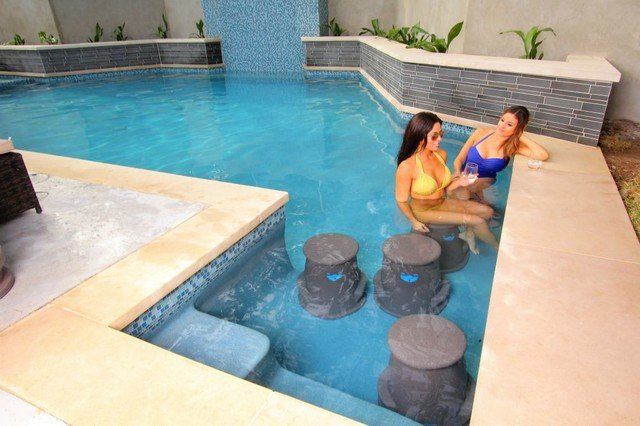 Swim-Up Bars are a popular built-in for pools in 2016