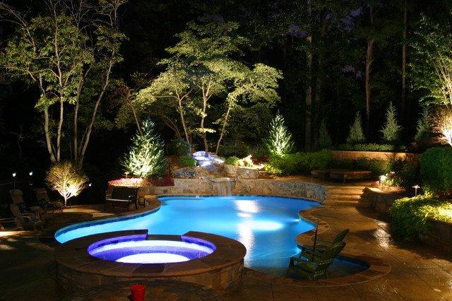 Uplighting is a popular Backyard Feature in 2016