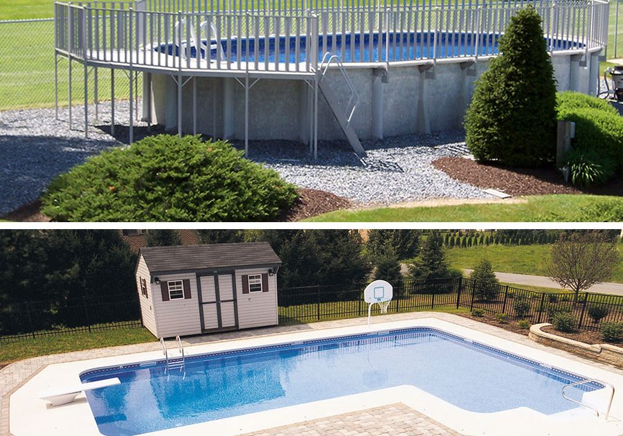Above Ground Pools Vs Inground Pools - How much do pools cost?